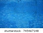 the texture of the brick wall... | Shutterstock . vector #745467148