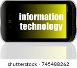 text information technology....