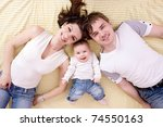 happy family | Shutterstock . vector #74550163