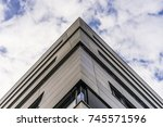 modern building | Shutterstock . vector #745571596