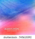abstract shiny colorful... | Shutterstock .eps vector #745613392