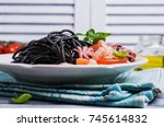 Black Spaghetti With Seafood...