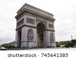 paris  france   september 6  ... | Shutterstock . vector #745641385