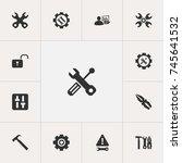 set of 13 editable toolkit...