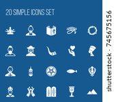 set of 20 editable religion...