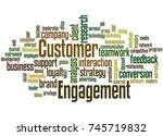 Customer Engagement  Word Cloud ...