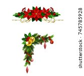 christmas elements for your... | Shutterstock .eps vector #745785928