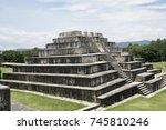 zaculeu or saqulew is a pre... | Shutterstock . vector #745810246