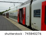 bruges  belgium  28 sep 2017 ...   Shutterstock . vector #745840276