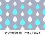colorful seamless geometric... | Shutterstock .eps vector #745841626