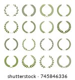 collection of different ... | Shutterstock .eps vector #745846336