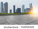 cityscape and skyline of... | Shutterstock . vector #745909345