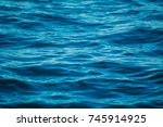 ocean water ripples in the... | Shutterstock . vector #745914925