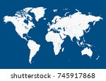 color world map | Shutterstock .eps vector #745917868