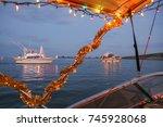 Florida Winter Christmas Boat...
