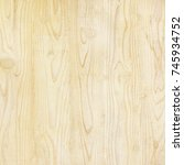 wood wall texture. wood... | Shutterstock . vector #745934752