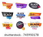 only today  35  discount ... | Shutterstock .eps vector #745950178