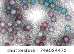 light colored vector template... | Shutterstock .eps vector #746034472