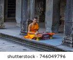 siem reap   cambodia   oct 17   ... | Shutterstock . vector #746049796