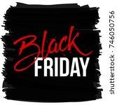 abstract vector black friday... | Shutterstock .eps vector #746050756