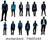 man fashion | Shutterstock .eps vector #74605165