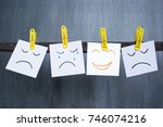 optimist between pessimists ... | Shutterstock . vector #746074216