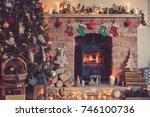 Christmas Setting Background ...
