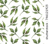 watercolor seamless pattern of... | Shutterstock . vector #746121925