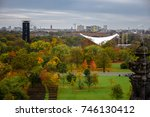 beautiful autumn colors and the ... | Shutterstock . vector #746130412