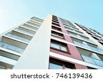 modern  luxury apartment... | Shutterstock . vector #746139436