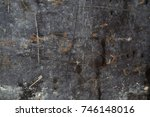 grungy old brick wall... | Shutterstock . vector #746148016