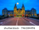 amsterdam  netherlands   march ... | Shutterstock . vector #746184496