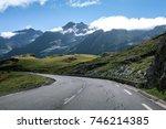 road in pyrenees | Shutterstock . vector #746214385