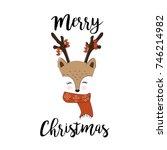 hand drawn illustration for... | Shutterstock .eps vector #746214982