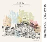 chhatrapati shivaji maharaj...   Shutterstock .eps vector #746219515