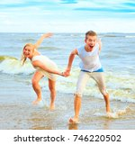 vacation honeymoon resort    Shutterstock . vector #746220502
