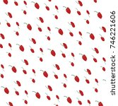 abstract background of red... | Shutterstock . vector #746221606