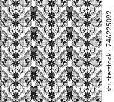 lace pattern   Shutterstock .eps vector #746225092