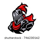 modern charismatic knight... | Shutterstock .eps vector #746230162