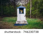 Small Shrine In Kampinos Forest ...