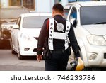 thai police uniform   thai... | Shutterstock . vector #746233786