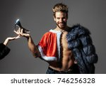 freak  gay and transvestite.... | Shutterstock . vector #746256328