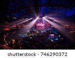 saint petersburg  russia  ...   Shutterstock . vector #746290372