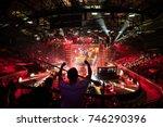 saint petersburg  russia  ... | Shutterstock . vector #746290396