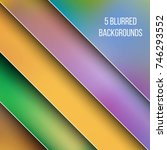 abstract creative concept... | Shutterstock .eps vector #746293552
