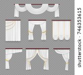 White Curtains Drapery For...