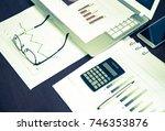 business finance  tax ... | Shutterstock . vector #746353876