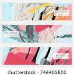 hand drawn creative universal... | Shutterstock .eps vector #746403802