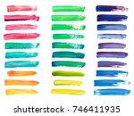 Abstract Acrylic Brush Strokes...