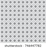 geometric basketwork seamless... | Shutterstock .eps vector #746447782